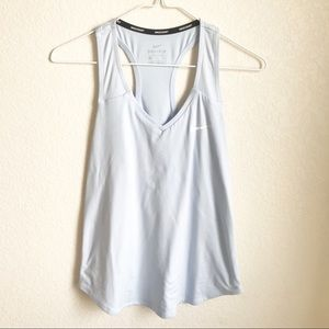 Nike • Baby Blue Racerback Dry Fit Athletic Tank S